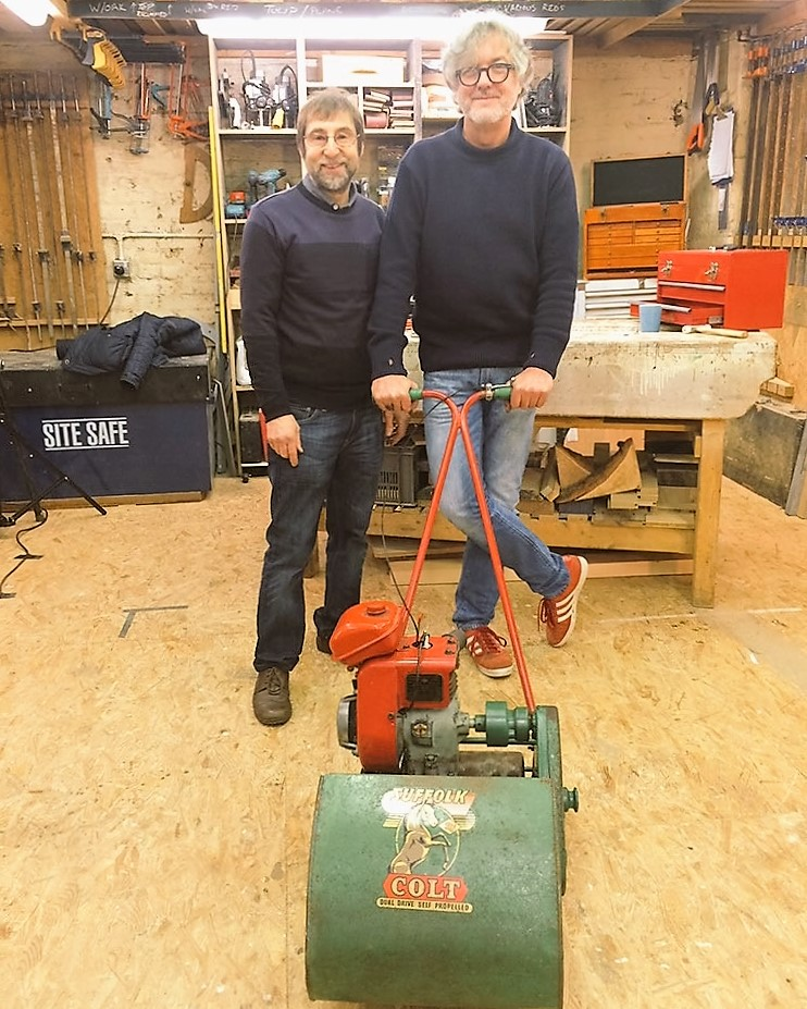 James May Rebuilds a 1950s Mower – Why Not Recreate a 1950s Garden?