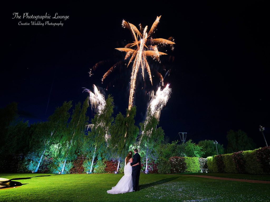 Weddings with Fireworks in Essex