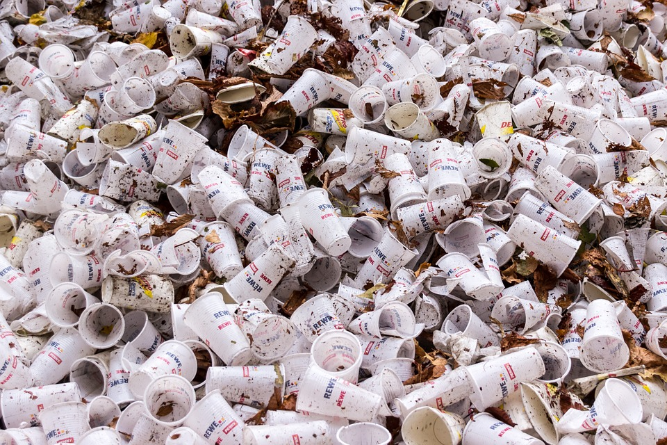 Replace Plastic With Biodegradable Paper Cups