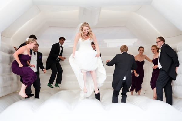 Tying the Knot? Why Not Treat Your Guests to A Bouncy Castle?