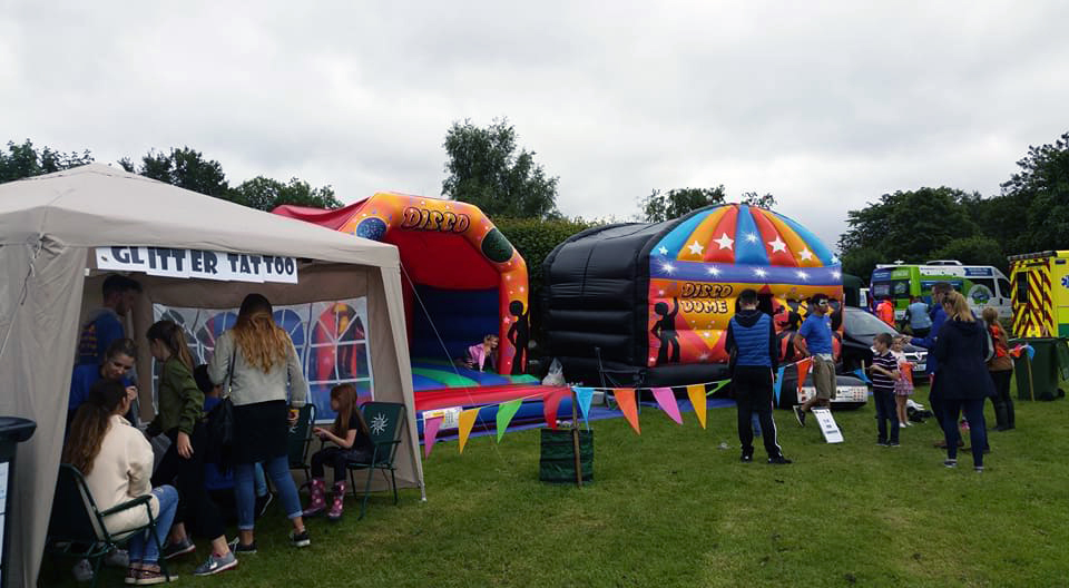 Bouncy Castles for Summer Village Fairs