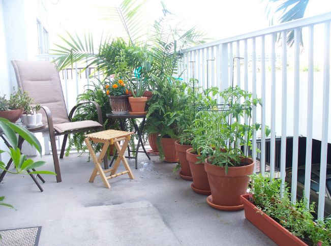 How To Turn a Balcony into a Tiny Paradise